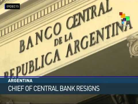 Argentina: Central Bank Head Resigns