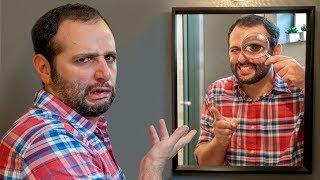 Você não sabe olhar no ESPELHO! COMO USAR espelho