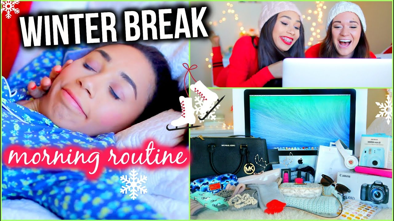 Winter morning routine huge holiday giveaway