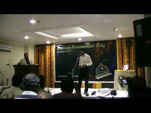 Indian Harmonica Day 2013 :: Asim Banerjee- Pardesia ye sach...