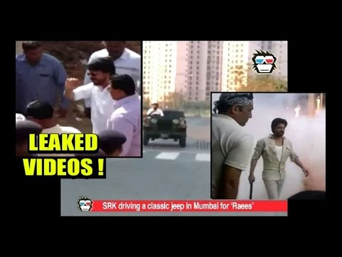 Watch SRK's LEAKED VIDEOS from 'Raees' shoot in Ahmedabad and Mumbai thumbnail