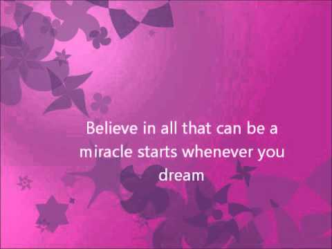 Barbie and the diamond castle - Believe lyrics