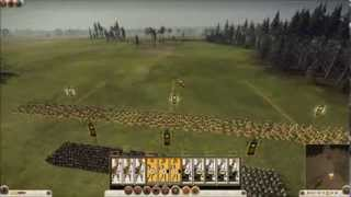 ROME 2 TOTAL WAR: Macedoni vs Romani - ITA