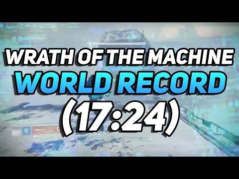 Destiny - Wrath Of The Machine SPEEDRUN WORLD RECORD! (17:24)