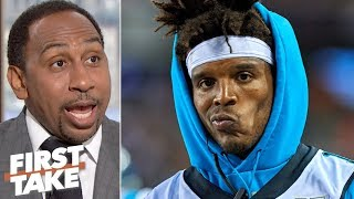 Stephen A. has low expectations for Cam Newton and the Panthers | First Take