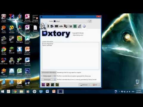 Como descargar (y configurar) Dxtory FULL 2014►Graba tus juegos SIN LAG!