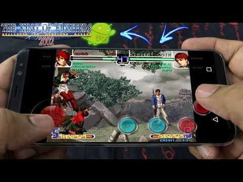 Como Baixar The King of Fighters 2002 para CELULAR Android 2018!
