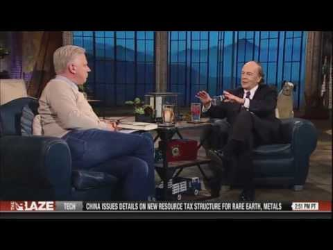 James Rickards author of The Death of Money w/ Glenn Beck Coming Collapse of the Dollar