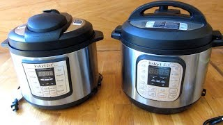 Instant Pot Difference Between LUX and DUO | 6-1 and 7-1 Model Series