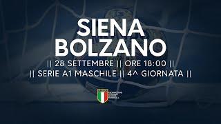 Serie A1M [4^]: Siena - Bolzano 29-27