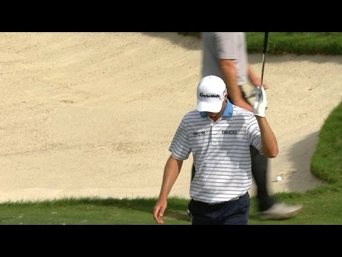 John Senden's perfect flop shot falls in for birdie at Cadillac Championship