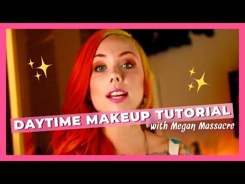 Megan Massacre's Daytime Makeup Tutorial