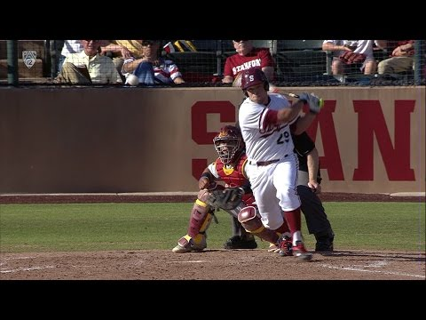Recap: Stanford baseball takes series from USC with offensive outburst