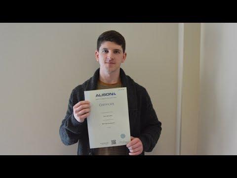 ALISON Learner Interview - Kieran McCarthy