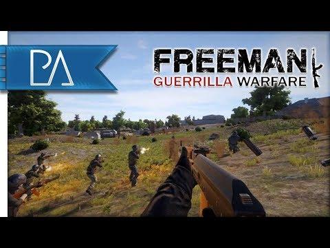 MOUNT & BLADE Meets ARMA: RTS Tactical Shooter - Freeman: Guerrilla Warfare Gameplay