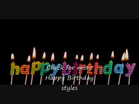 Happy Birthday - Sing Along - Tango