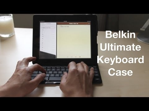 Belkin Ultimate Keyboard Case review