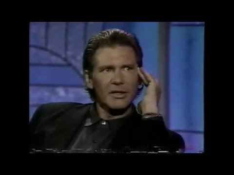 Harrison Ford on The Arsenio Hall Show (Part 1 of 2)