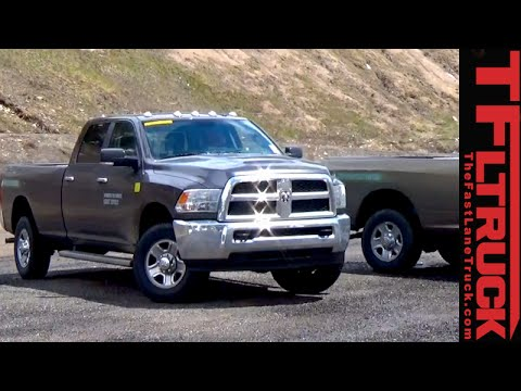 Ram 2500 Heavy Duty CNG Pickup Spied Testing in the Wild