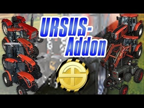 Ursus Addon: Baling Equipment - First Test [Farming Simulator 2013]