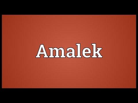 Header of Amalek