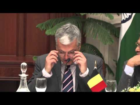 Joint Media Interaction with Deputy Prime Minister of Belgium
