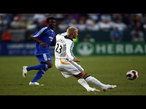 David Beckham - The Best Midfielder [HD]