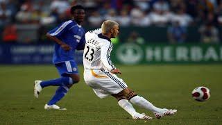 David Beckham - The Best Midfielder Ever [HD]