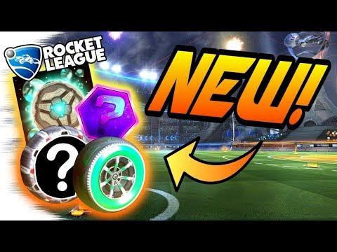 Rocket League UPDATE: NEW RLCS ITEMS LEAKED! - Razzle Wheels, Ballistic, Aether (Rewards/Gameplay)
