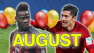 Which Football Star Do You Share A Birthday With? | August