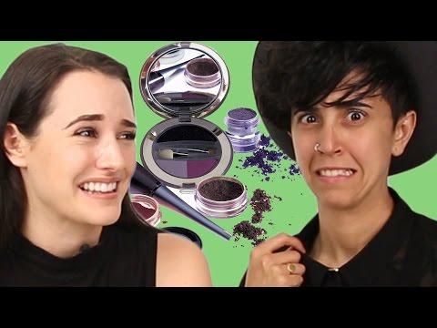 Makeup Lover & Hater Swap Routines For 1 Week - Tan & Gyan