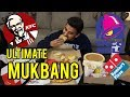 DOMINOS PIZZA, PASTA, TACO BELL, & KFC MUKBANG   Eating Show