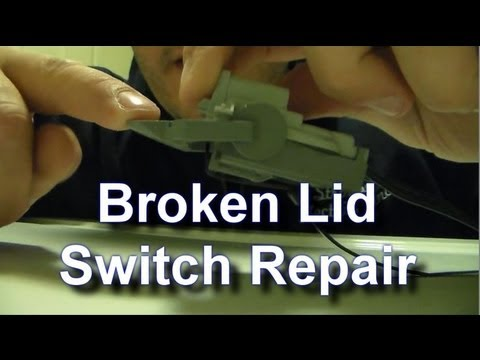 Fixing a Broken Kenmore / Whirlpool Lid Switch for Free
