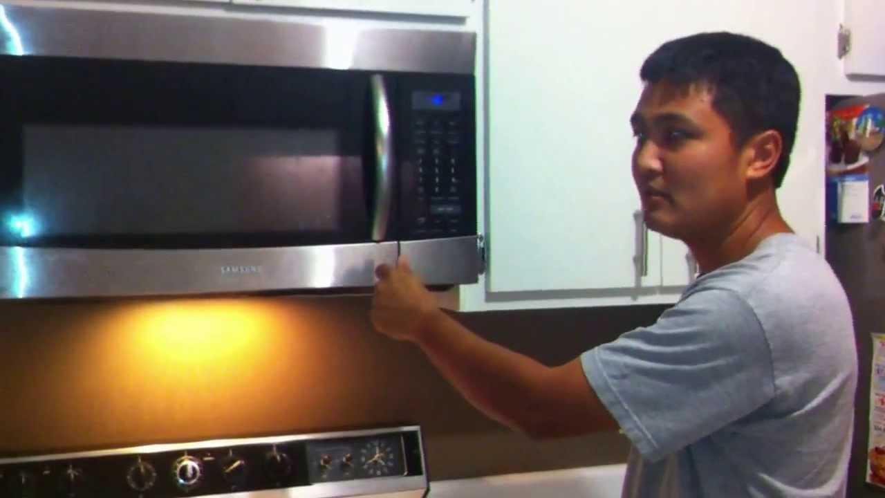Samsung Microwave Door Latch Spring Repair When Your