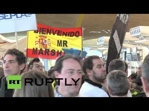 Spain: Iberia workers' strike causes air chaos