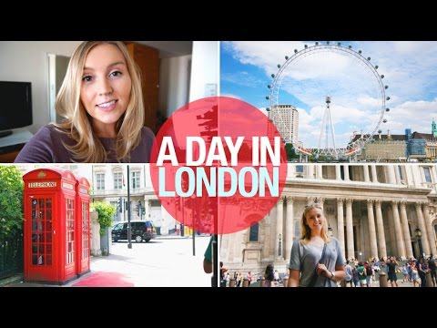 A Day In London: Dinosaurs, Shopping + Haul | VLOG