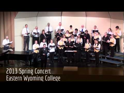 2013 Eastern Wyoming College Spring Concert