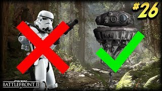 Star Wars Battlefront 2 - Funny Moments #26 (New Stormtrooper Glitch!)