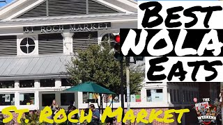 Exploring New Orleans' St. Roch Market | Best Places to Eat in New Orleans