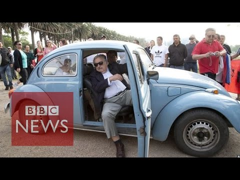 World's 'poorest president' Uruguay's Jose Mujica & his $1m VW