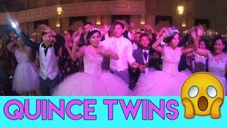 Rocking Out Alexis & Alyssa Quinceanera Party Cool Surprise Dance