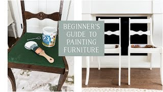 Beginners Guide to Painting Furniture