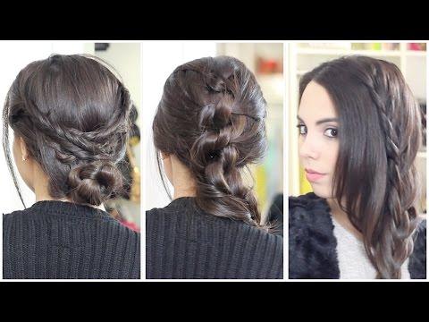 3 Peinados bonitos y fáciles   What The Chic