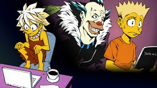 The Simpsons Death Note Comic Reading - ?Murder He Wrote?