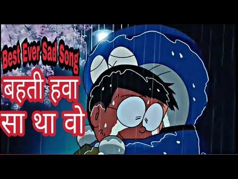 Goodbye Doraemon || sad song || behti hawa sa tha wo || Doraemon goes back to future