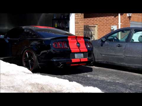 2014 Mustang GT Coldstart - Roush Axlebacks + Resonator Delete + KW Coilovers