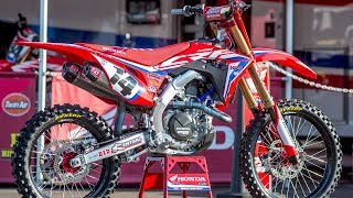 Inside Cole Seely's Factory HRC Honda CRF450 - Motocross Action Magazine