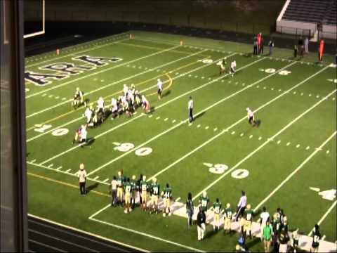 Tyler Moore 2013 senior football highlights (Morrow High School)