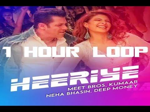 Download Lagu  Heeriye  -  Race 3  - 1 HOUR LOOP CONTINUOUS -  Meet Bros ft. Deep Money, Neha Bhasin Mp3 Free