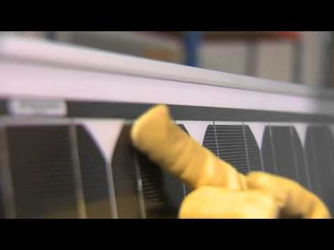 BP Solar modules: Up Close
